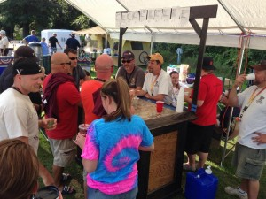 Michigan Homebrew Festival in Holly  August 2014 -2